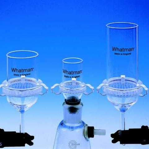Photo of 3-Piece Filter Funnel. Whatman