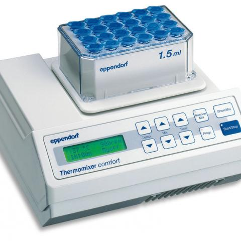 Photo of Eppendorf Thermomixer® R Dry Block Heating and Cooling Shaker