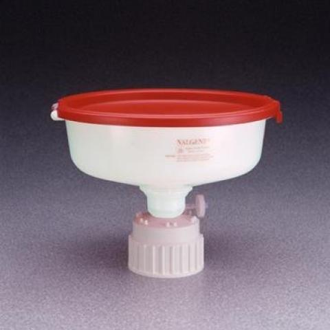 Photo of Safety Waste Funnels. Nalge