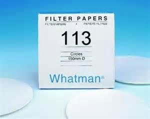 Photo of Whatman Grade 113 Qualitative Filter Paper Wet-Strengthened
