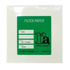 Photo of Whatman Grade 230 Reeve Angel Creped Qualitative Filter Paper